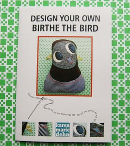 "Image of Mønsterark ""Birthe the bird"""