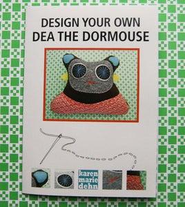 "Image of Mønsterark ""Dea the dormouse"""