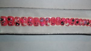 Image of Heart Attack Predesigned Nails
