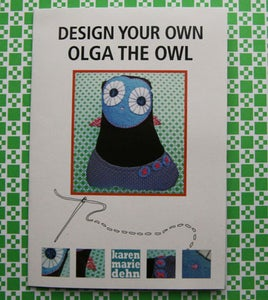 "Image of Mønsterark ""Olga the owl"""