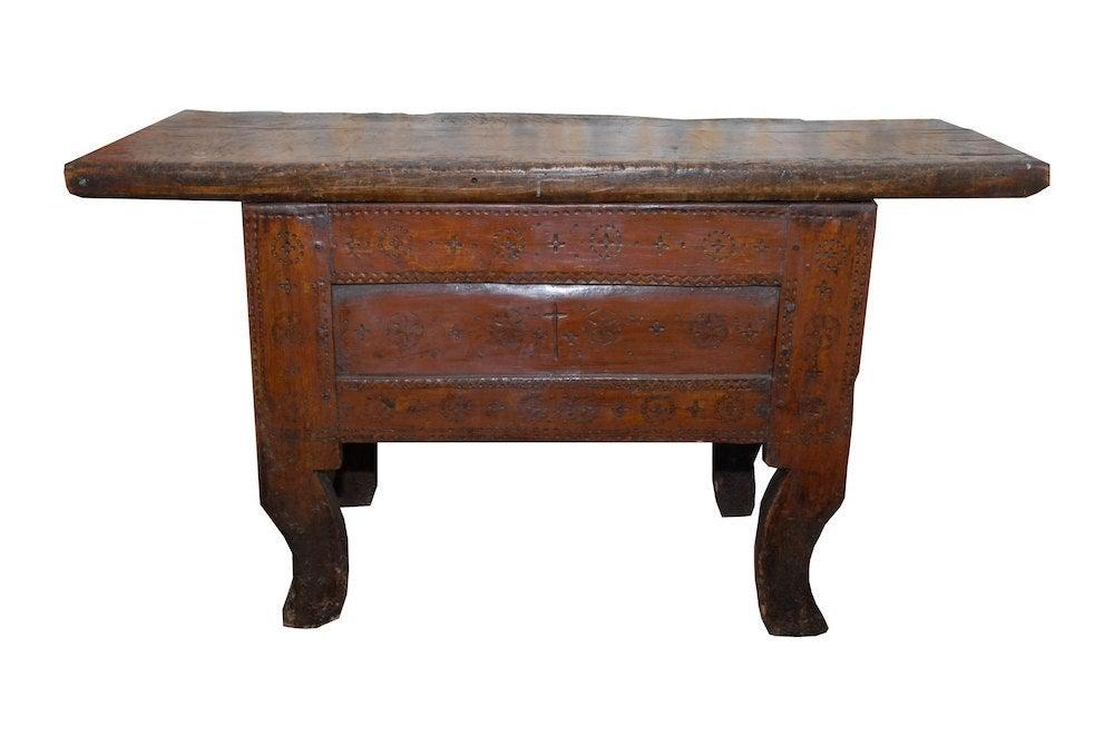 Image of 18th Century Spanish Table