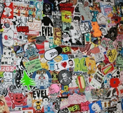 Image of 15 Random Street Art Stickers