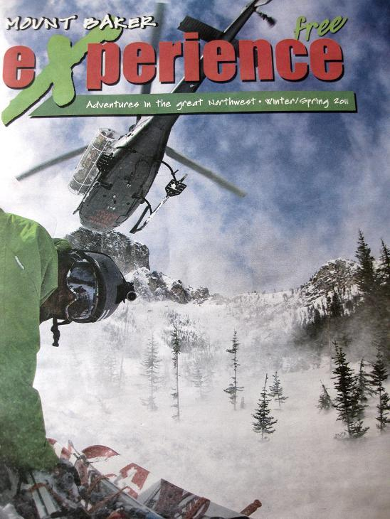Image of Wes J Featured @ Mt. Baker Experience Magazine