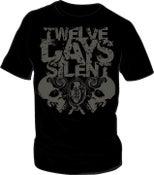 Image of 12 Days Silent Shirt - Black