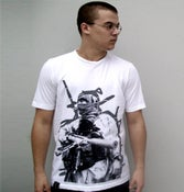 "Image of T shirt ""war"""
