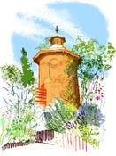Image of Dovecote, summer weekend, 11am