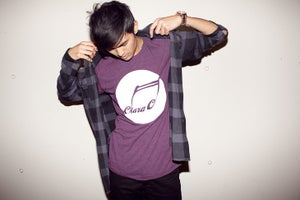 Image of CLARA C Logo Shirt (Cranberry)