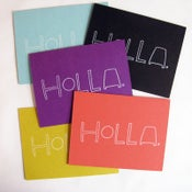Image of holla card pack of 10