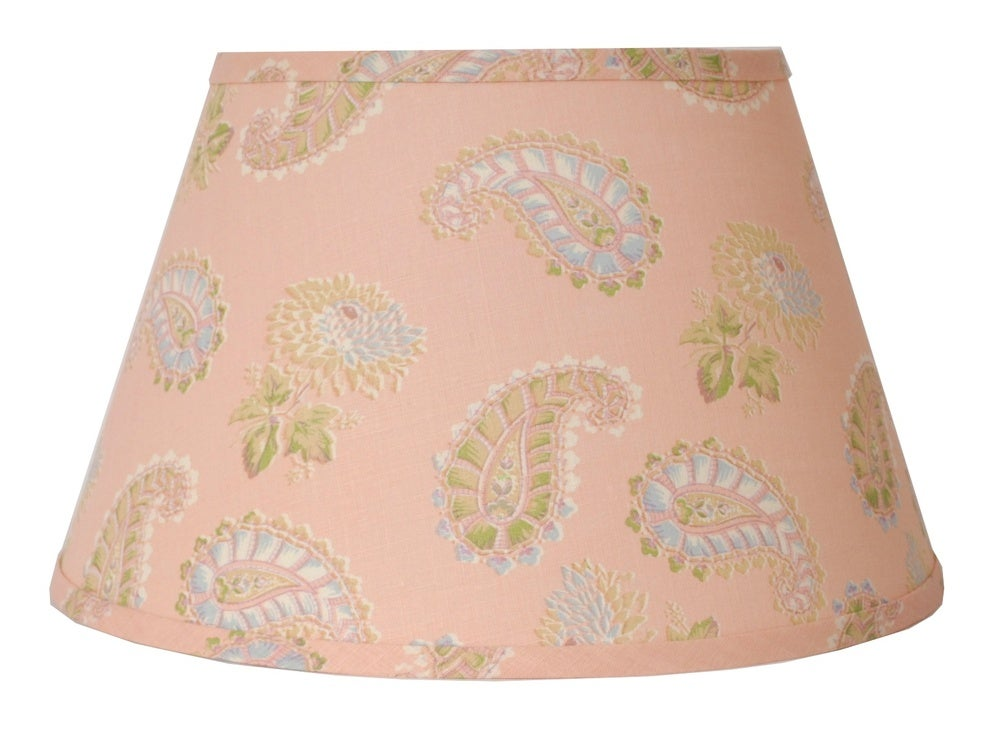 "Image of 16"" Quilt Lampshade: Pink"