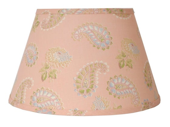 """Image of 16"""" Quilt Lampshade: Pink"""