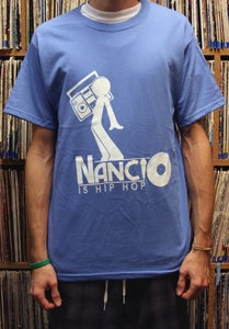 Image of Hip Hop Tee (North Carolina Blue)