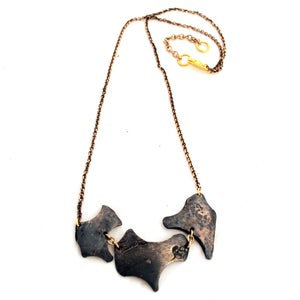 Image of Debitage Triad Necklace