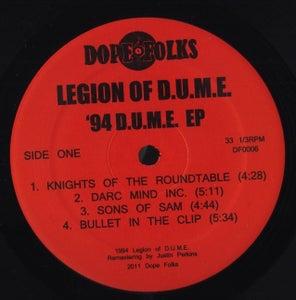 Image of LEGION OF D.U.M.E. '94 D.U.M.E. EP ****SOLD OUT****