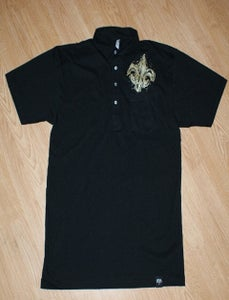 Image of Black and Gold Polo