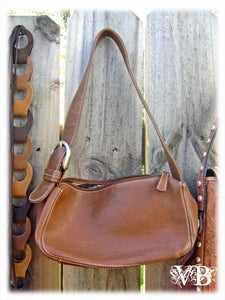 Image of Vintage Franco Sarto Leather Handbag