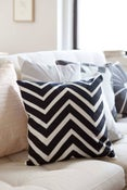 Image of Zigzag Pillow - 16""