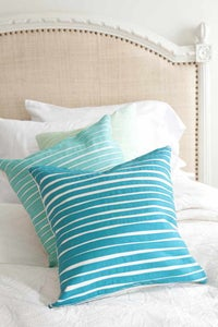 Image of Stripey Pillow - 18""