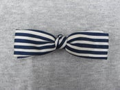 Image of Blue clip-on bow tie