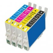 Image of Epson Compatible ink cartridge sets (4, 5, 6, 7, 8 or R series) click for more info
