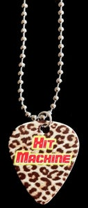 Image of Hit Machine Necklace-Leopard
