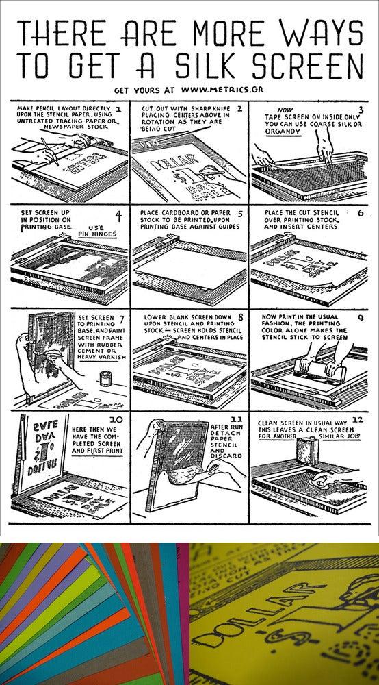 Image of more ways to get a silkscreen