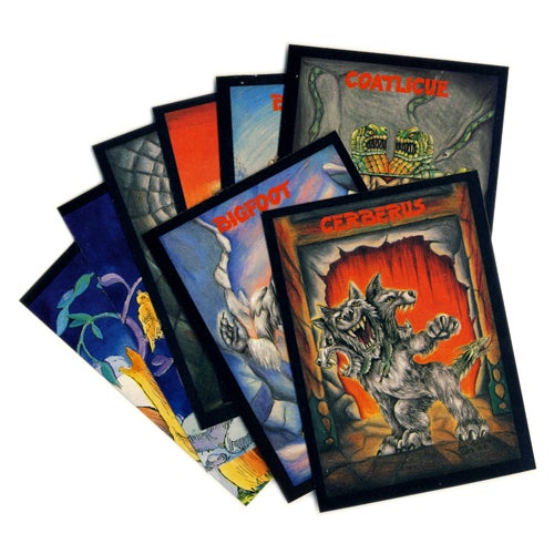 Image of MONSTER IN MY POCKET TRADING CARDS - 1991