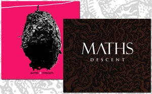 Image of Maths - Descent CD Album + Maths/Throats CD