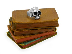 "Image of ""Keith"" Half Skull Ring"