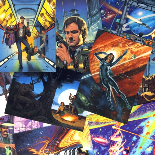 Image of FANTASY ART TRADING CARDS by DAVID MATTINGLY SCI-FI