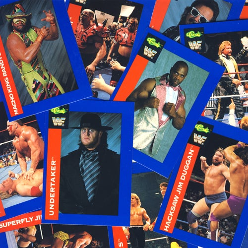 Image of WWF CLASSIC WRESTLING SUPERSTAR CARDS - 1991