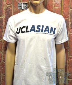 Image of UCL'ASIAN' Mens T-Shirt ( White )