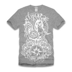 Image of LYU 'Gypsy Tee' Grey