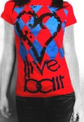 Image of I ❤ Argyle (men & women's blue)