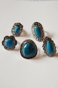 Image of Turquoise Stone Ring