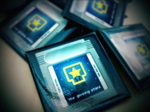 """Image of 1.5"""" Cartridge square button"""