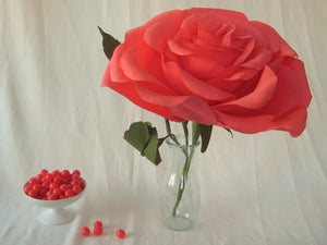 Image of Giant Crepe Paper Rose