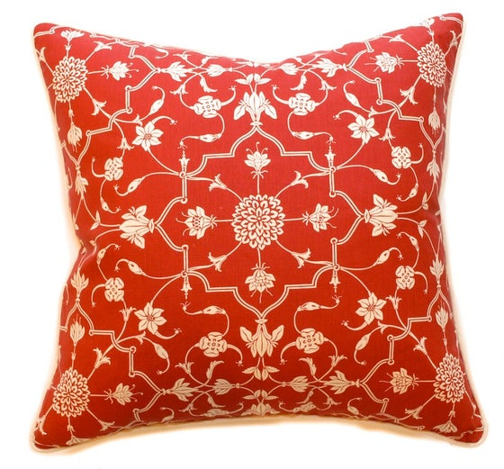 "Image of Abu Cherry Single Sided 22"" Pillow"