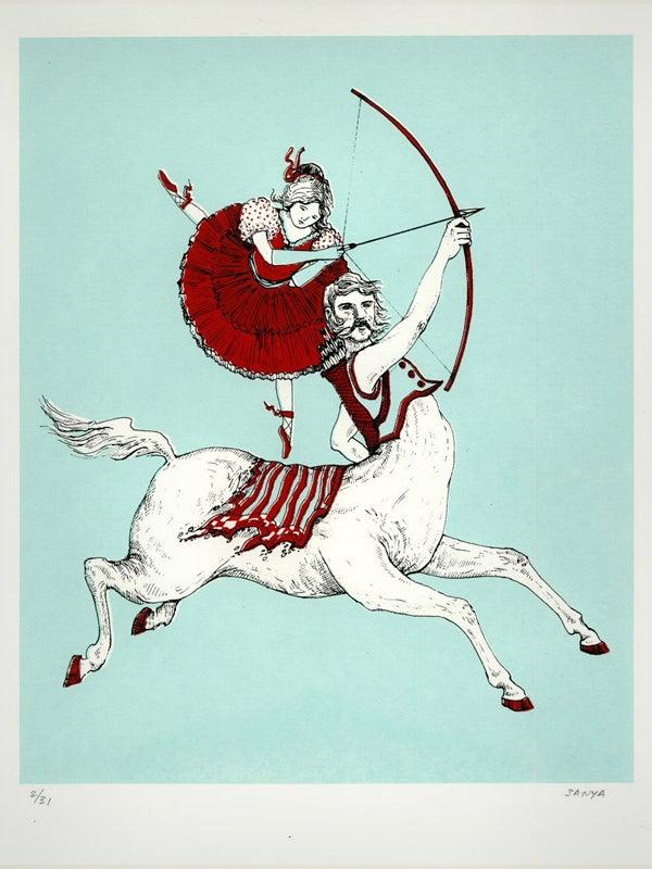 "Image of Sanya Glisic - ""Iva and the Centaur"""