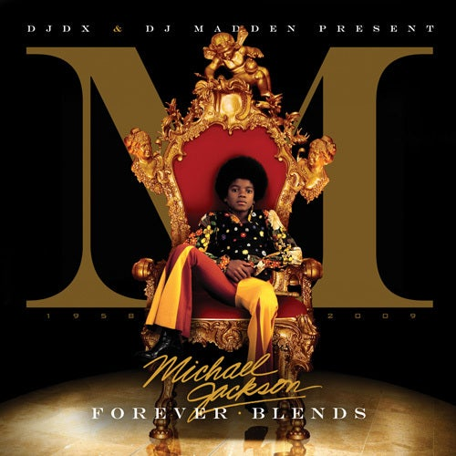 Image of DJ DX & DJ Madden - Michael Jackson Forever Blends