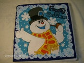 Image of Book Fabric Book Frosty The Snowman Fabric Book