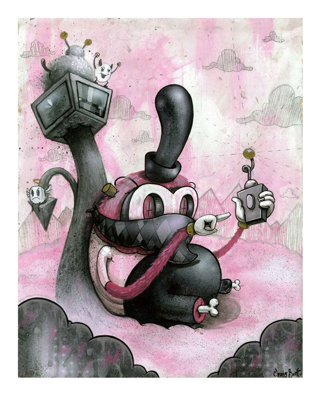 Image of Hide & Sneak ~ Limited Edition Print