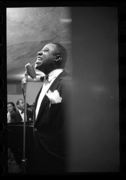 Image of Louis Armstrong Sings In A Night Club