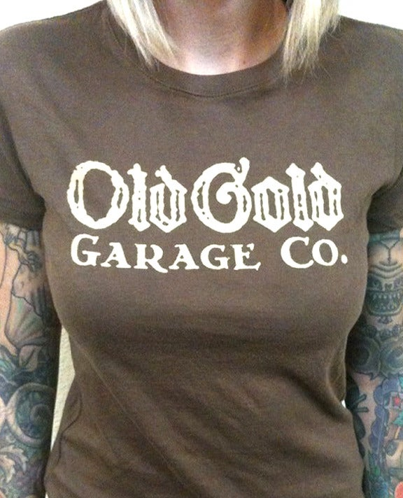 Image of Old Gold Vintage Girlie T's