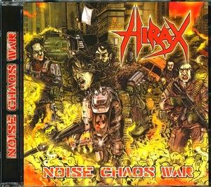 """Image of HIRAX """"Noise Chaos War"""" CD"""