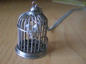 Image of birdcage necklace