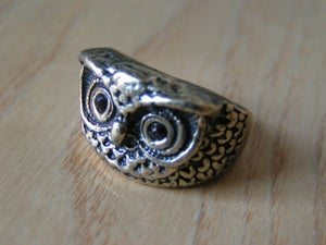 Image of owl ring