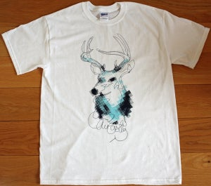 Image of Deer T-Shirt / Blue