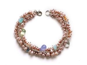 Image of Pearl Cluster Bracelet