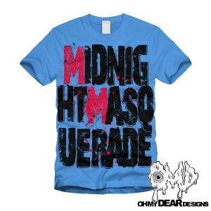 "Image of Midnight Masquerade - ""Logo"" Blue"
