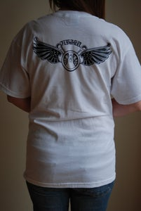 Image of FLYWHEEL T Shirts (back view)
